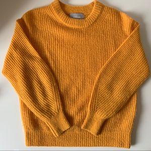 Everlane alpaca crew sweater